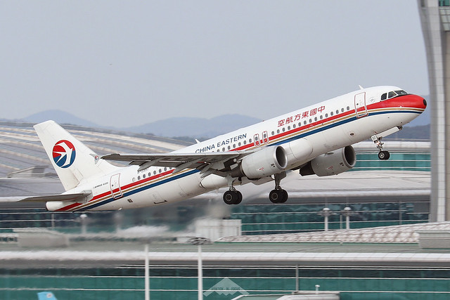 B-2357  -  Airbus A320-214  -  China Eastern Airlines  -  ICN/RKSI 6-10-19