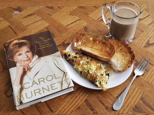 Start the day with a Spinach & Feta Omelet and Carol
