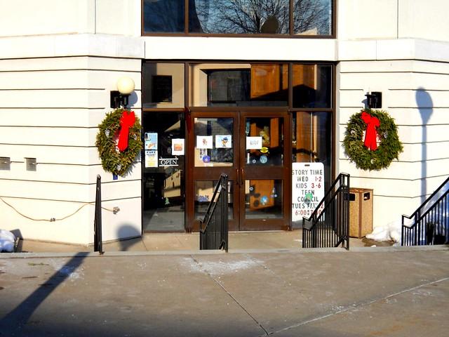 Library entrance - SS Menominee Michigan