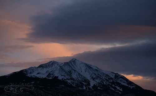 mountain mountsopris sopris rockies rockymountains crystalrivervalley landscape sky skyscape carbondale sunset