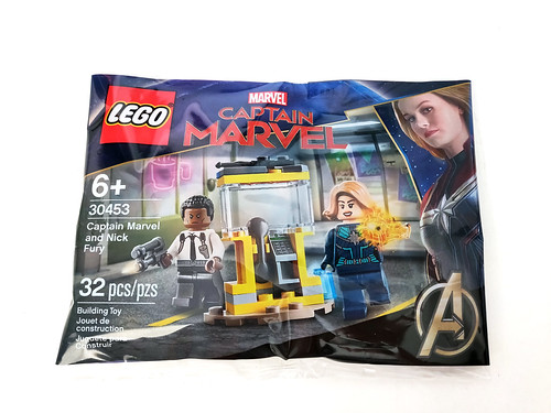 LEGO Marvel Super Heroes Captain Marvel and Nick Fury (30453)