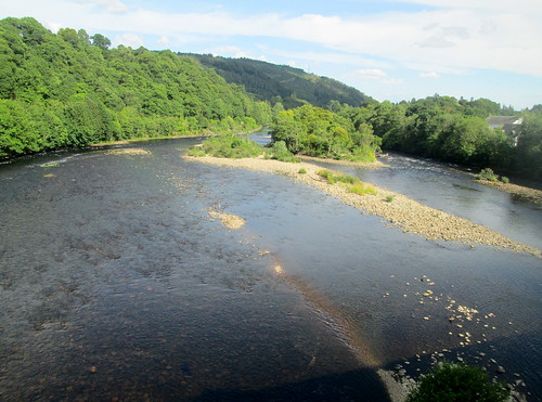 River Tay from Dunkeld Bridge