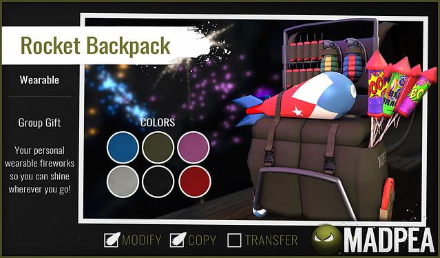 MadPea Rocket Backpack