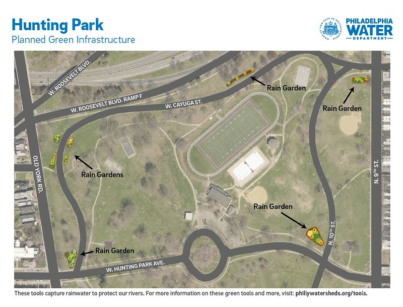Hunting Park project map