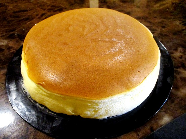 Japanese baked cotton cheese cake