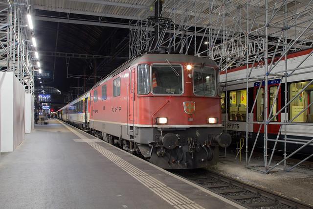 SBB Re 4/4 420 111 Basel SBB