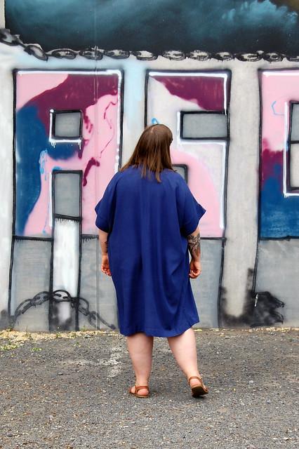 Torrens Box Dress back
