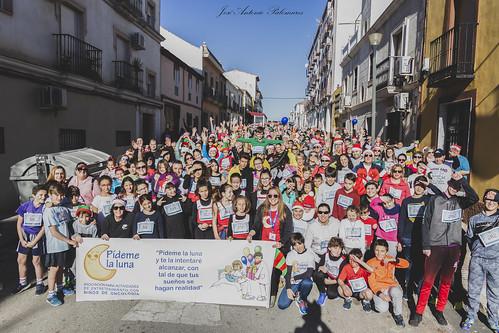 X Gran Marcha Solidaria Navideña en La Carolina. Diciembre 2019