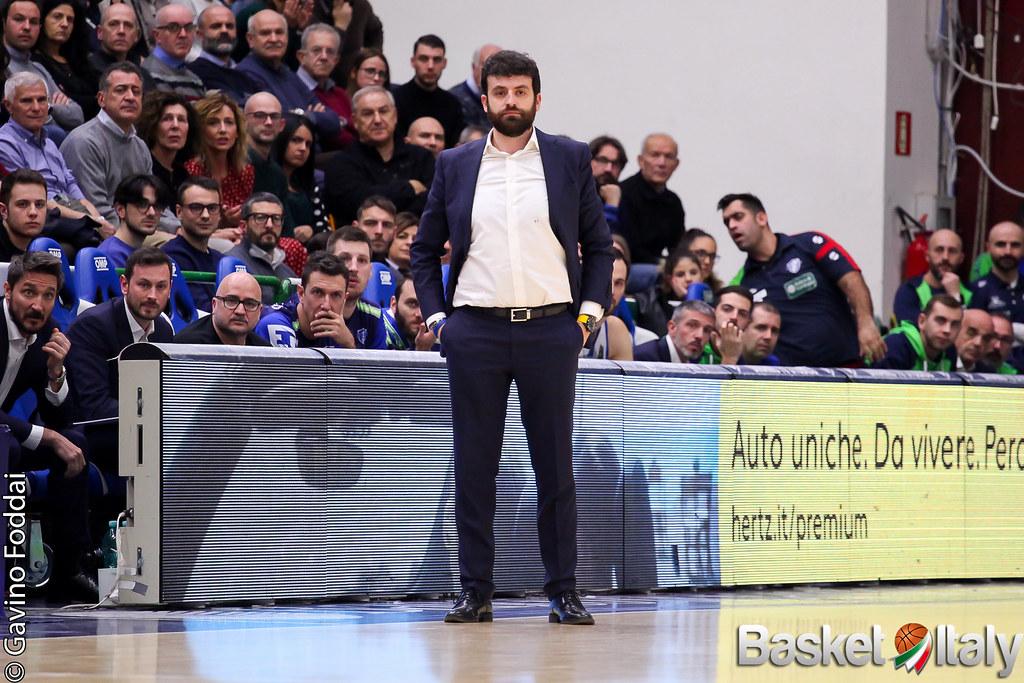 Sassari: il vice Casalone saluta la Dinamo con un messaggio d'amore per i tifosi sardi