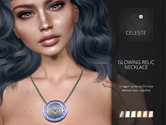 Celeste - Glowing Relic Necklace