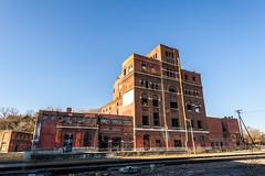 Abandoned Old Imperial Brewing Company, Kansas City, Missouri