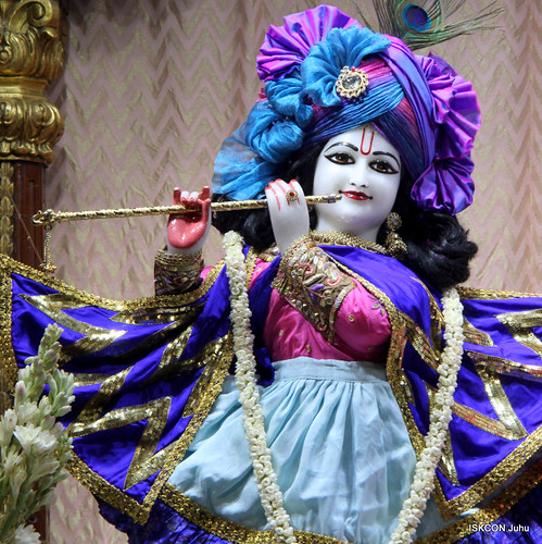 ISKCON Juhu Mangal Deity Darshan on 31st Dec 2019