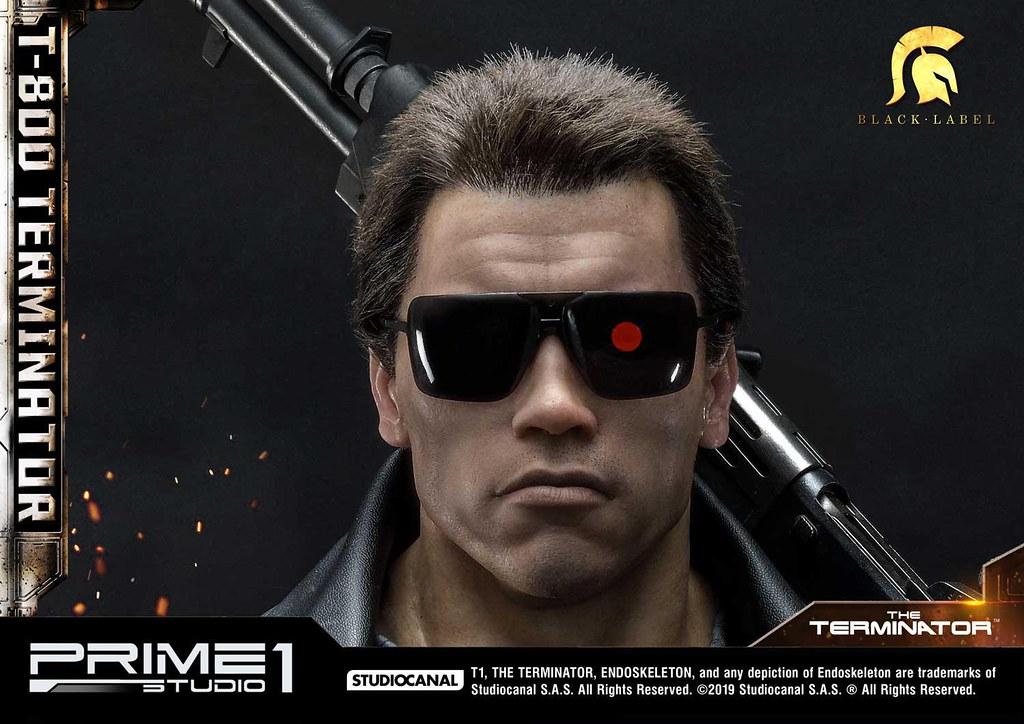 那個男人又回來了!Prime 1 Studio《魔鬼終結者》T-800型 終結者 1/2比例 雕像(T-800ターミネーター)究極登場
