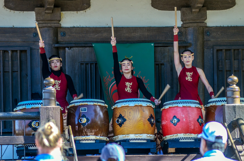 Japan drummers Epcot