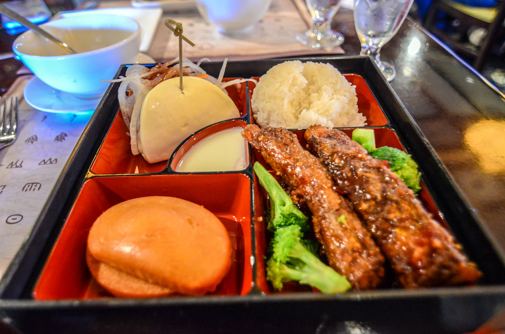 Nine Dragons bento box Epcot