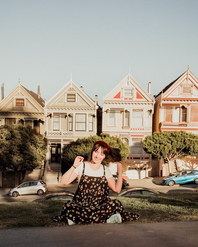 Painted Ladies Full House Houses San Francisco