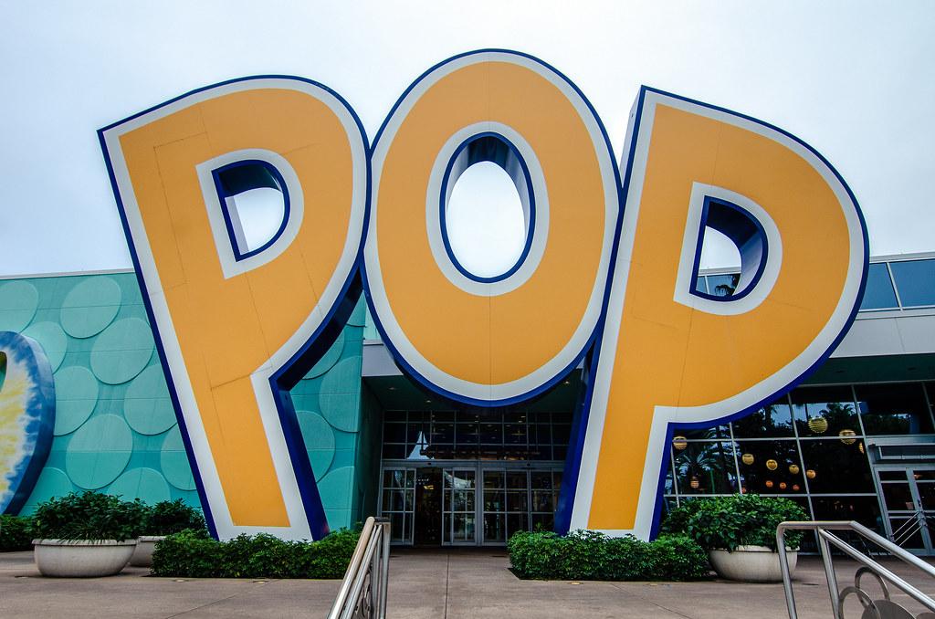 Pop Century big letters