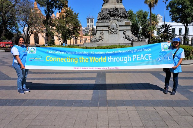 Portugal-2019-12-01-UPF-Argentina's Peace Walk Features Prayers for Peace and Unity