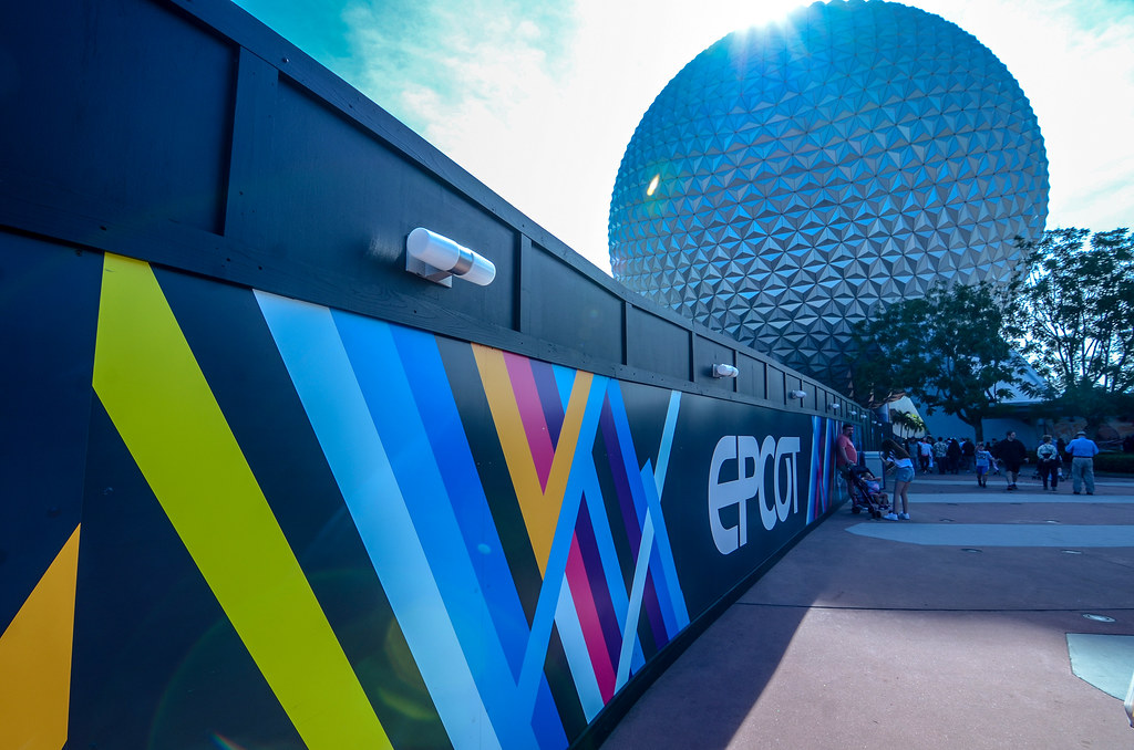 Epcot wall and SSE