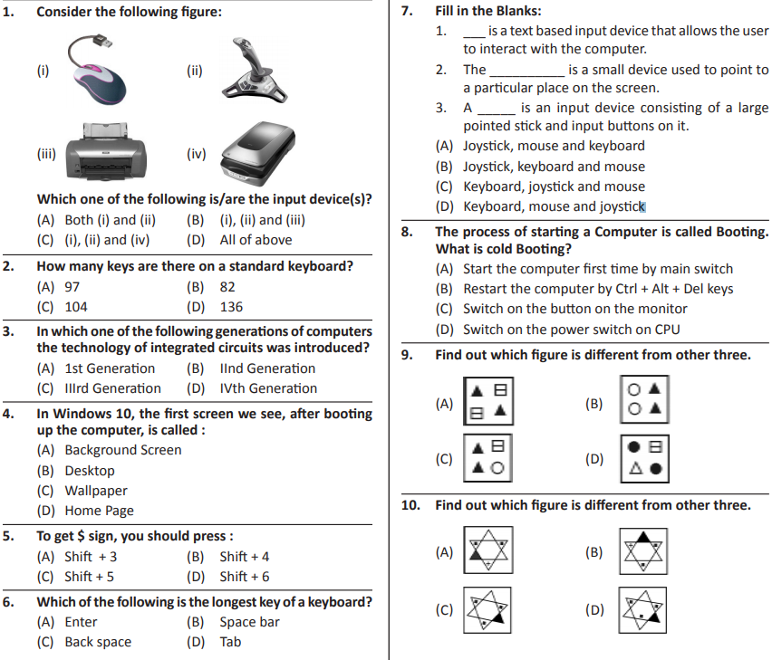 Silverzone iiO Syllabus and Sample Papers for Class 3