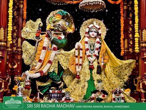 Hare Krishna Temple Ahmedabad Deity Darshan 31 Dec 2019