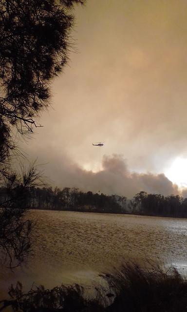 Lake Conjola Bushfire