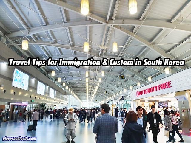 travel tips south korea