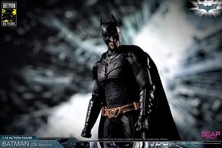 守護高譚的騎士降臨! Soap Studio《黑暗騎士》蝙蝠俠 The Dark Knight – Batman 1/12 比例可動人偶