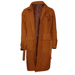 Harrison Ford 1982 Rick Deckard Blade Runner Trench Coat
