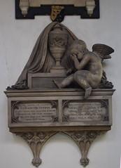 coade stone memorial: Elizabeth Coppin, 1812