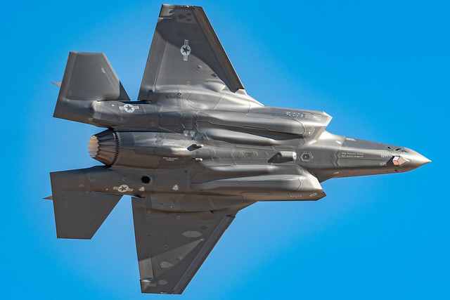 F-35A Shows her Belly