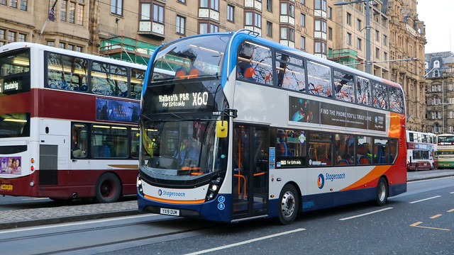 11187 YX19OUM Stagecoach Fife