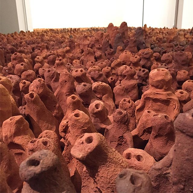 Anthony Gormley The Field.