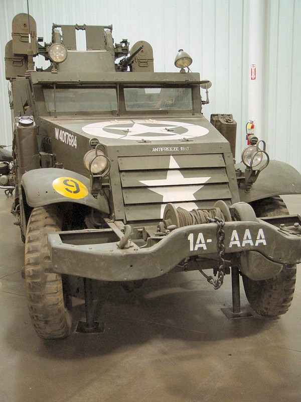 White M16 Gun Motor Carriage 1