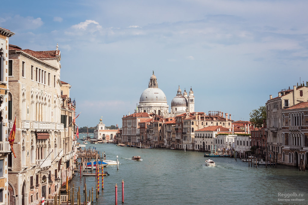 венеция италия каналы