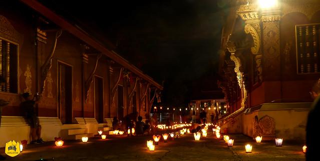 Light Festival of Luang Prabang, Laos - October 2019