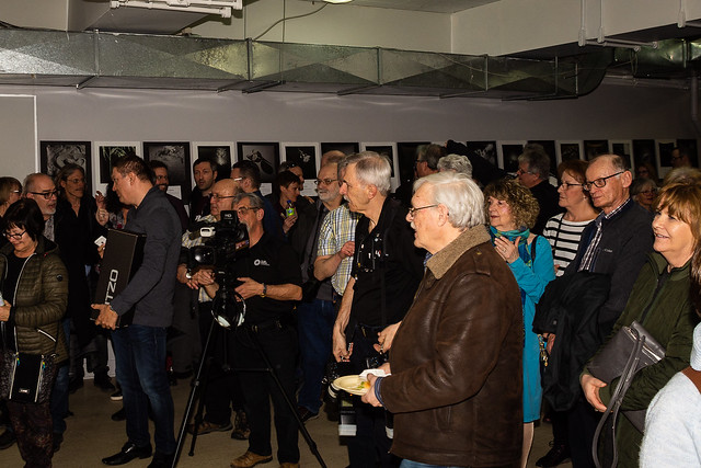 "Photo souvenir - Vernissage ""Les Clubs photos s'exposent au MNP"" - 6 avril 2019"