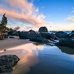 Magenta Color Sky