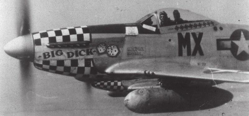 "derpanzergraf: P-51D Mustang ""Big Dick"""