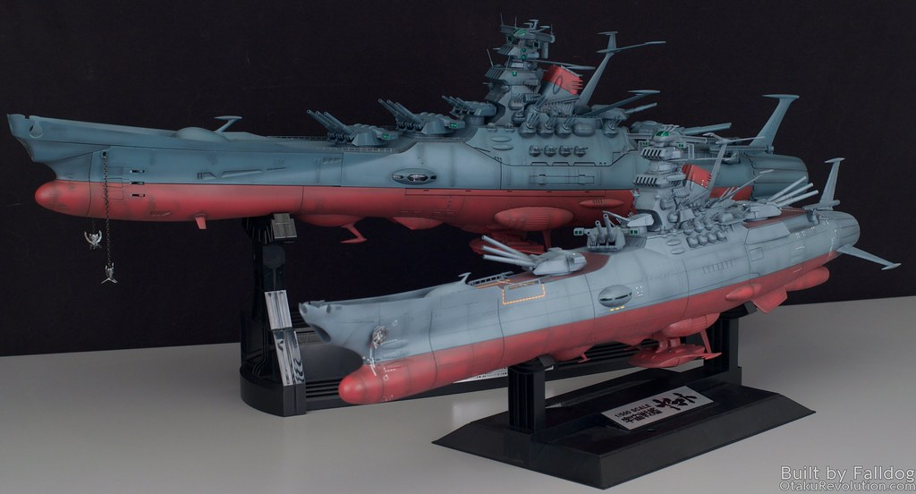 1-500 Space Battleship Yamato WIP 5