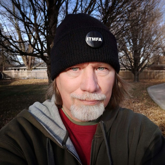my ownself -- last selfie of the year