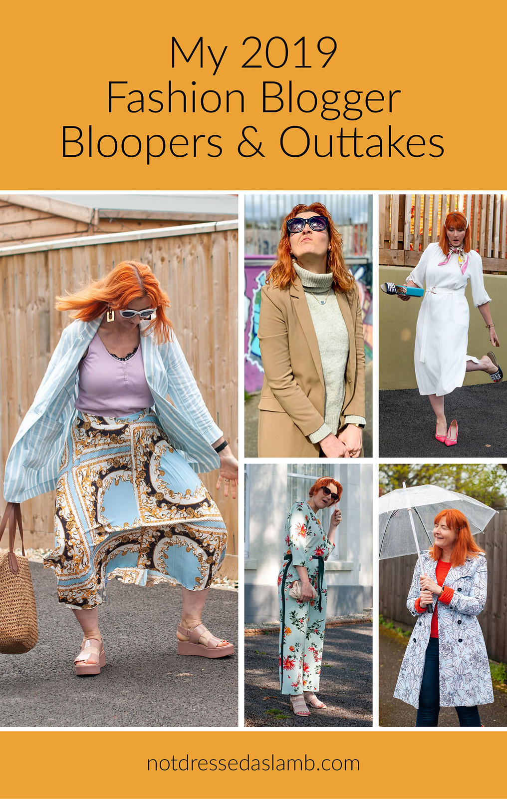 Not Dressed As Lamb Fashion Blogger Bloopers & Outtakes 2019