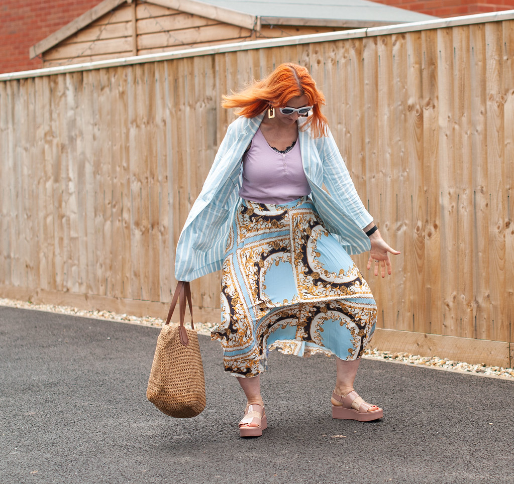 Not Dressed As Lamb Fashion Blogger Bloopers & Outtakes 2019 | The one where I gracefully showed the wind's effect on my skirt