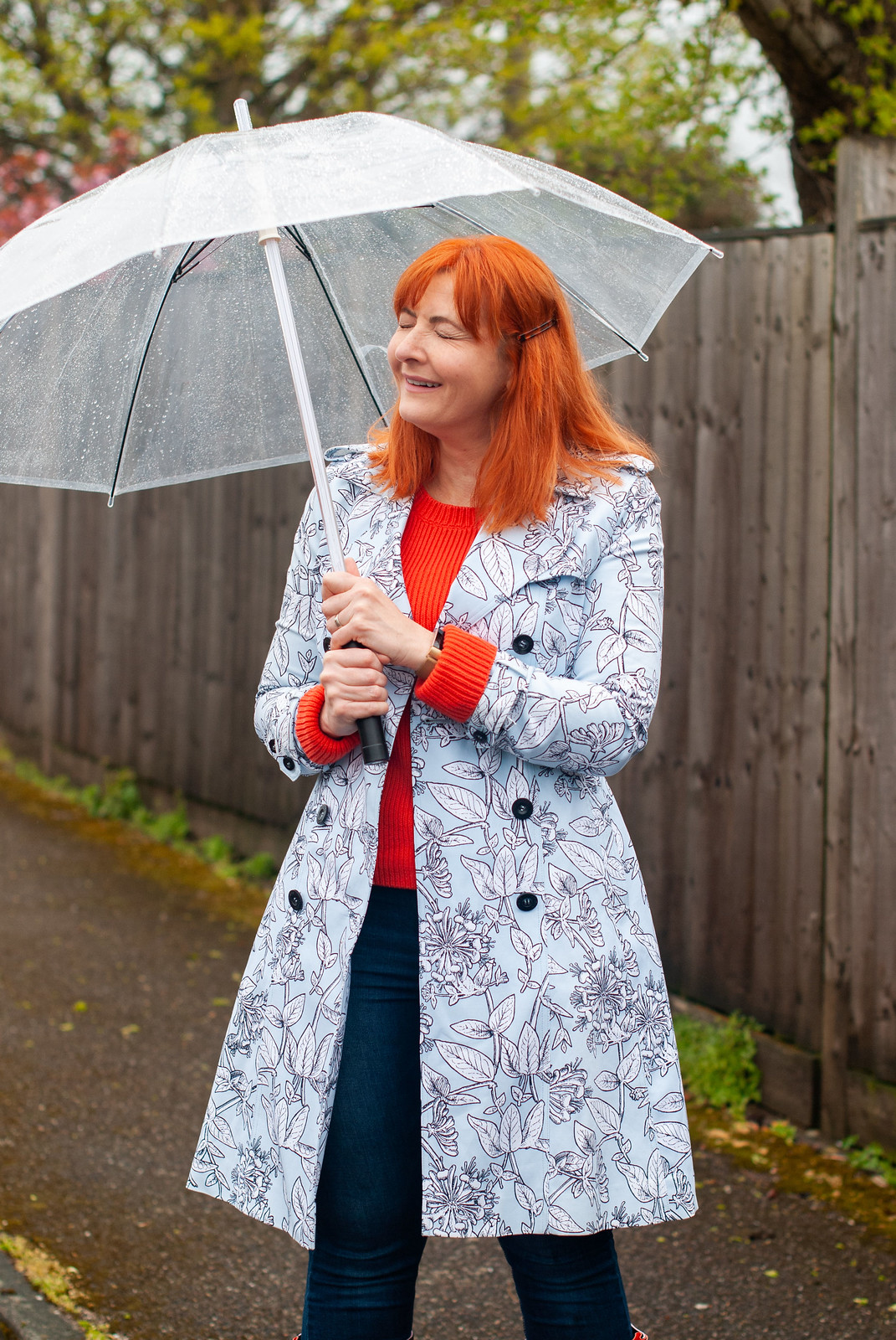 Not Dressed As Lamb Fashion Blogger Bloopers & Outtakes 2019 | The one where I realised dynamic rainy day shots weren't going to work