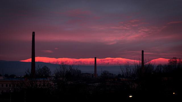 New years dusk