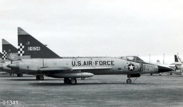 Ex-57th FIS Convair F-102A Delta Dagger 56-1341
