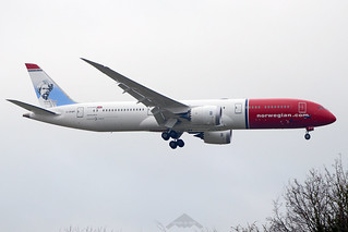 G-CKWP  -  Boeing 787-9 Dreamliner  -  Norwegian Airlines UK  -  LGW/EGKK 31/12/19 | by Plane Martin