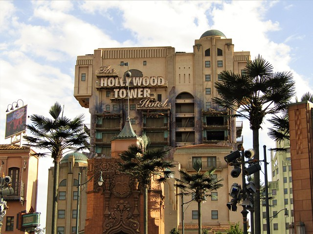 Twilight Zone Tower of Terror in Walt Disney Studios
