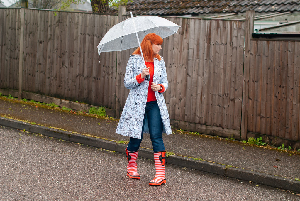 Not Dressed As Lamb Fashion Blogger Bloopers & Outtakes 2019 | The one where I tried dynamic rainy day poses