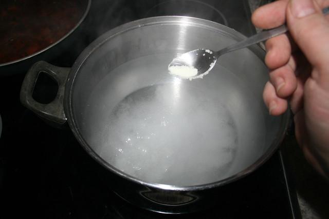 52 - Wasser salzen / Salt water